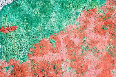 Stone Background Art Print by Tom Gowanlock