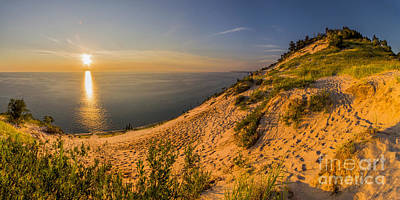 Michigan Photograph - Sunset At Old Baldy by Twenty Two North Photography