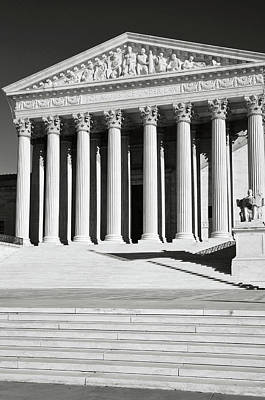 Photograph - Supreme Court Of The United States by Brandon Bourdages