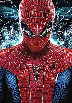 The Amazing Spider-man 2012 Art Print