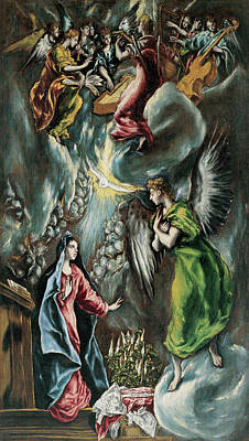 Lord Painting - The Annunciation by El Greco
