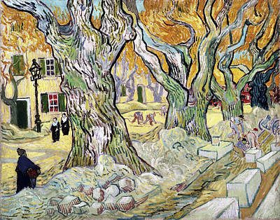 Painting - The Road Menders by Vincent van Gogh