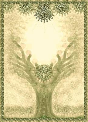 Tree Of Life Digital Art - Tree Of Life by Sandrine Kespi