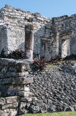 Digital Art - Tulum Ruins by Carol Ailles