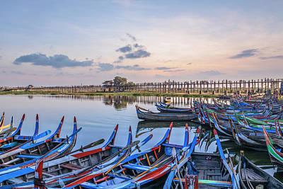 Myanmar Photograph - U Bein Bridge - Myanmar by Joana Kruse