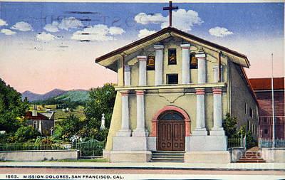 Photograph - Vintage Postcard by Kevin Bohner