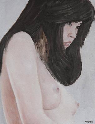 Painting - Young Woman by Masami Iida