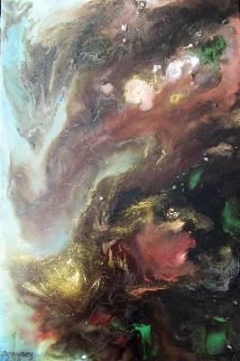 Painting - #902 Lustrous View by Linda Skibinsky