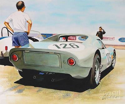 Automobilia Painting - 904 by Robert Hooper