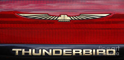 Photograph - 90s Thunderbird by Richard Lynch