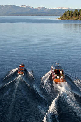 Photograph - Classic Wooden Runabouts by Steven Lapkin