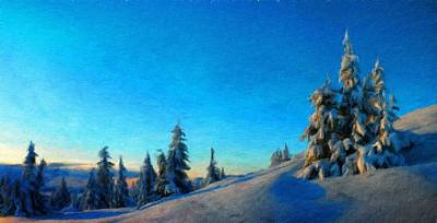 Nature Painting - Landscape Painted by Margaret J Rocha