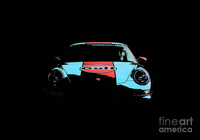 Digital Art - 911 Gulf by Roger Lighterness