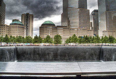 Photograph - 911 Memorial Hdr by Joe  Palermo