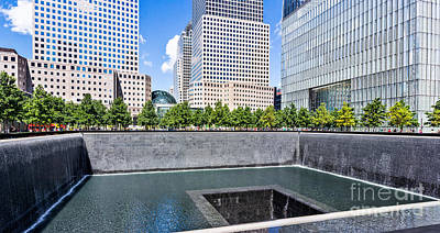 Photograph - 911 Memorial - Panorama by John Waclo