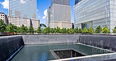 Photograph - 911 Memorial - Panorama by John Waclo