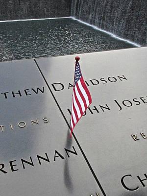 Photograph - 911 Memorial by Steven Lapkin