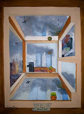 September 11 Painting - 911 by Patrick Trotter