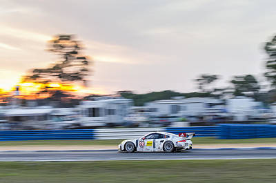 12 Hours Of Sebring Photograph - #911 Porsche 911 Rsr - 12 Hours Of Sebring by Austin Whisnant