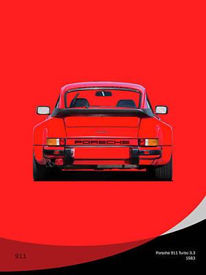 911 Turbo 1983 Art Print