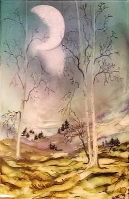 Painting - #914 Cloudy Mist by Linda Skibinsky
