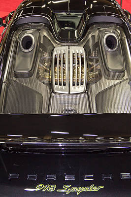 Barrett Jackson Wall Art - Photograph - 918 Spyder by Wayne Vedvig