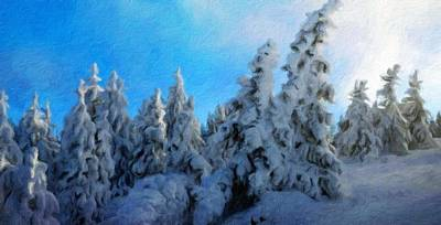 Water Painting - Nature Original Landscape Painting by Margaret J Rocha