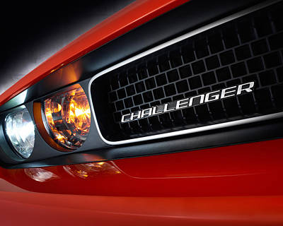 Challenger Digital Art - 9226 Cars Dodge Challenger  by F S