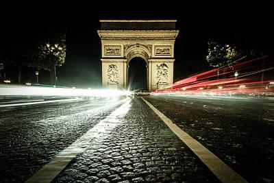 Photograph -  Arc De Triomphe by Kelvin Trundle