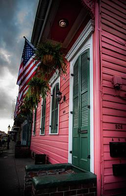 Shotgun Houses Wall Art - Photograph - 926 Bourbon Street by Chrystal Mimbs