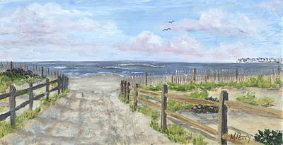 Jersey Shore Painting - 92nd Street by Margie Perry
