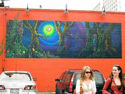 Painting - Mellow Mushroom Mural by Kaley LaRose