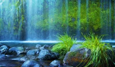 Landscapes Painting - Landscape Oil Painting Nature by Margaret J Rocha