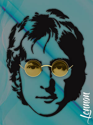 Lennon Mixed Media - John Lennon Collection by Marvin Blaine
