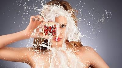 Summer Digital Art - Model by Super Lovely
