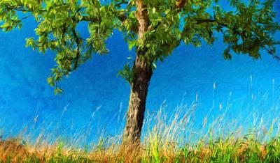Mountains Painting - Oil Paintings Art Landscape Nature by Margaret J Rocha