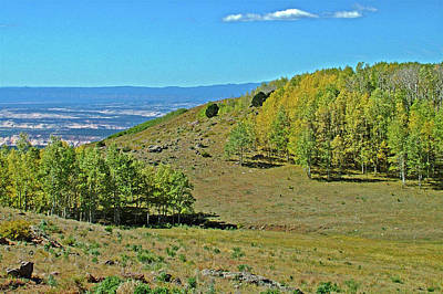Photograph - 9600 Foot Summit From Scenic Byway Highway 12 In Dixie National Forest, Utah by Ruth Hager
