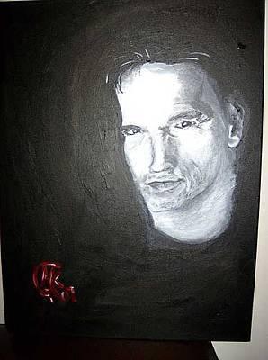 Schwarzenegger Painting - Arnie by Michaela Gilt