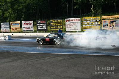 Wall Art - Photograph - 9715 08-04-2013 Lebanon Valley Dragway Night Of Fire by Vicki Hopper