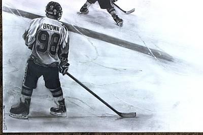 #98 Brown Art Print by Gary Reising