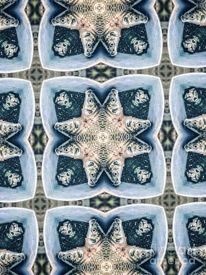 Seafood Digital Art - Unique Design Pattern by Amy Cicconi