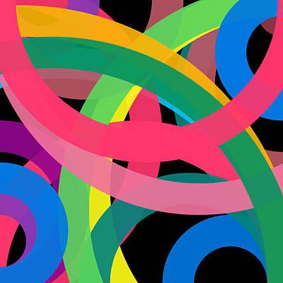 Drawing - 987 - Phi Word Circle by REVAD David Riley