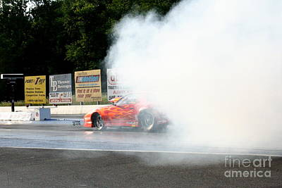 Wall Art - Photograph - 9885 08-04-2013 Lebanon Valley Dragway Night Of Fire by Vicki Hopper