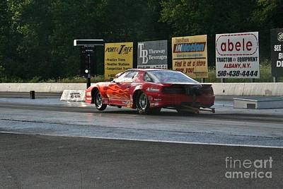 Wall Art - Photograph - 9888 08-04-2013 Lebanon Valley Dragway Night Of Fire by Vicki Hopper