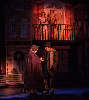 Photograph - Christmas Carol 2017 by Andy Smetzer
