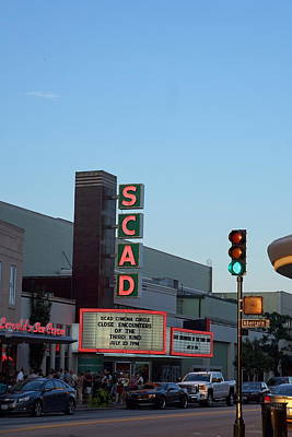 Photograph - Scad by Laurie Perry