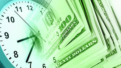 Digital Art - Time Is Money  by Les Cunliffe