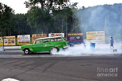 Wall Art - Photograph - 9905 08-04-2013 Lebanon Valley Dragway Night Of Fire by Vicki Hopper