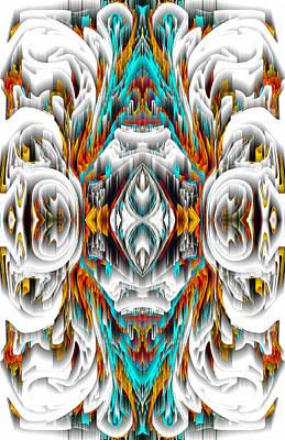 Digital Art - 992.042212mirror2ornategold-1-a by Kris Haas