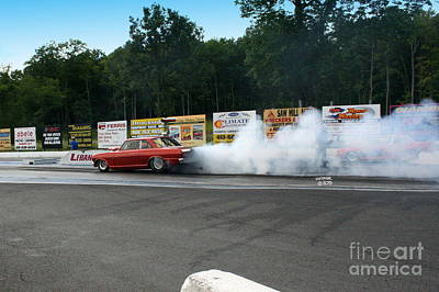 Wall Art - Photograph - 9945 08-04-2013 Lebanon Valley Dragway Night Of Fire by Vicki Hopper